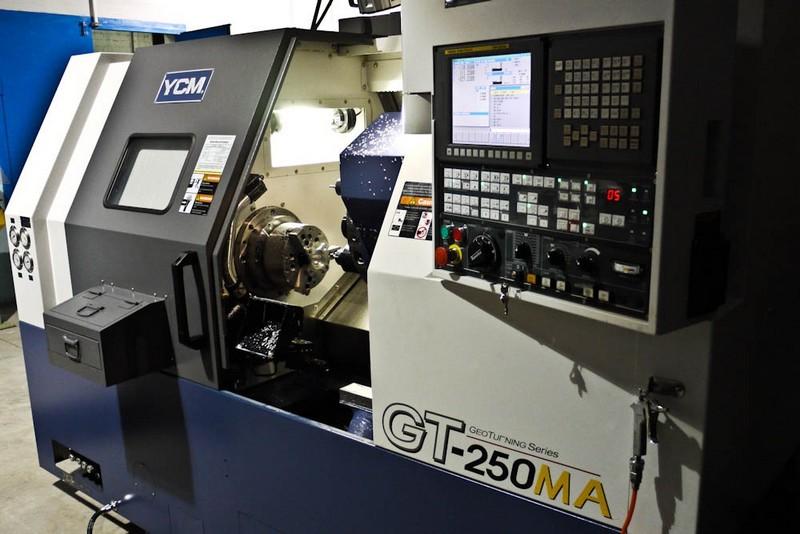 токарно-фрезерный станок GT-250MA для металлообработки