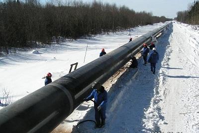 гидравлические испытания трубопровода