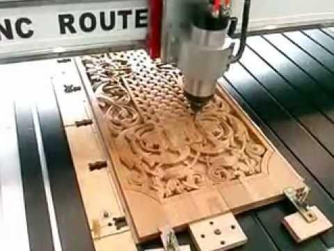 использование 3D фрезы